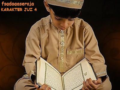 Tipe Karakter Juz 4 Al-Qur'an
