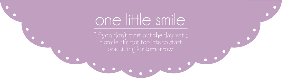 one little smile | blog lifestylowy