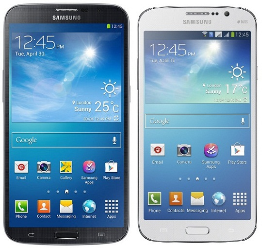 Galaxy Mega 5.8 and Galaxy Mega 6.3 - Specifications and Price