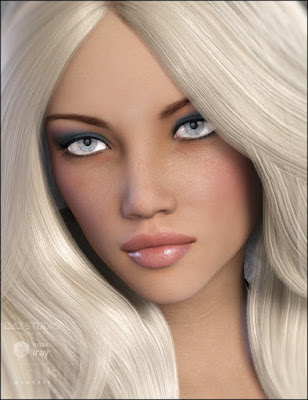 3d Models Art Zone - Carrie for Genesis 3 Female