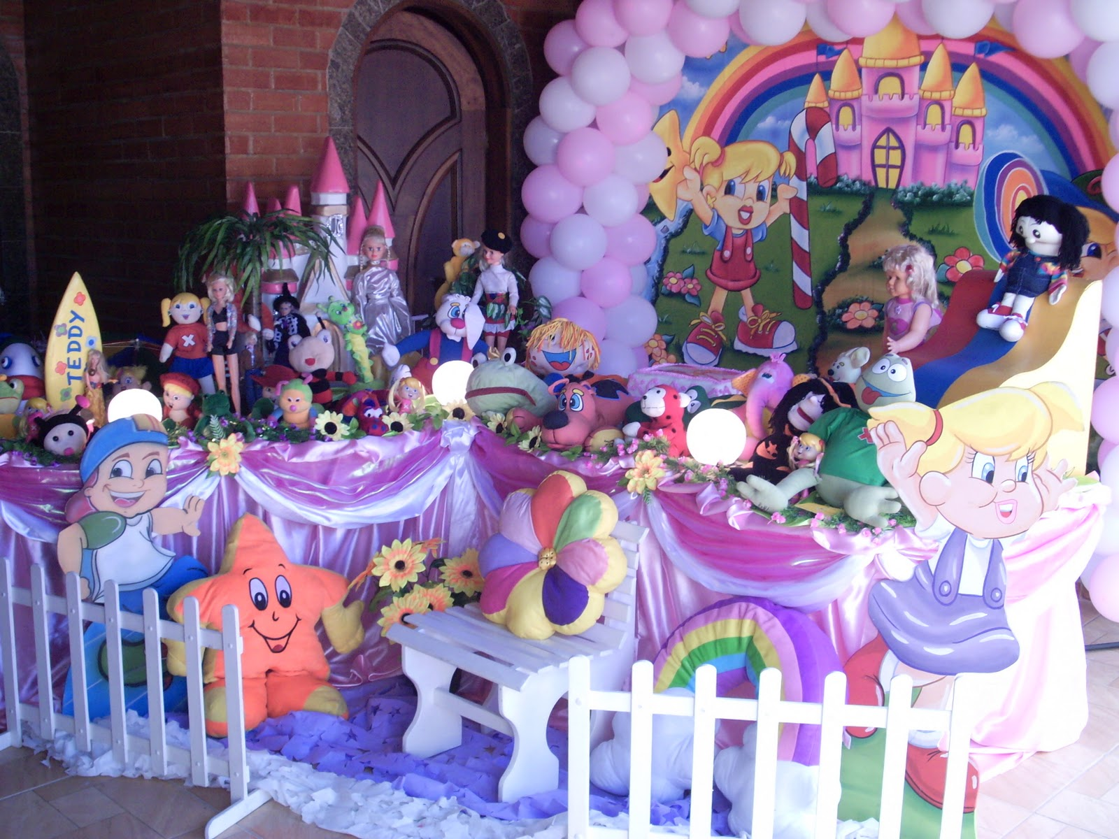 decoracao festa xuxinha:festa infantil da Xuxinha