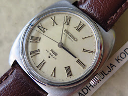 SEIKO KING SEIKO CREAM ROMAN DIAL - HIGH BEAT 28.800 BPH - AUTOMATIC 5621 7000