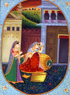 Kangra Paintings Of The Sat Sai