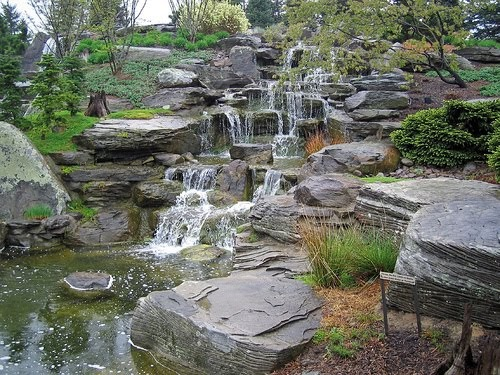 Trend home interior design 2011 cool water garden for Still pond garden design