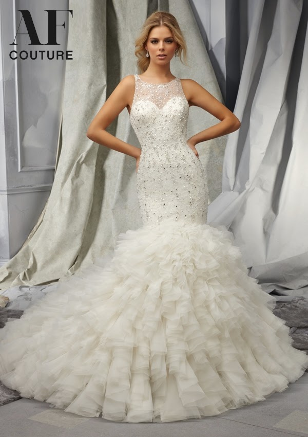 AF Couture By Mori Lee Fall 2014 Bridal Collection