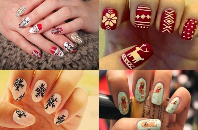 Kosmetyki Dla Zdrowia I Urody świąteczny Manicure Czyli Mikołaje