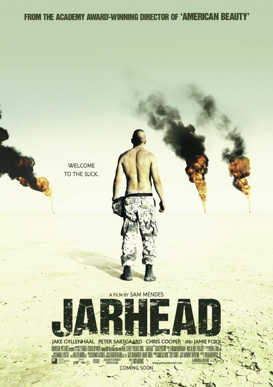 jarhead movie review It's 1990 and twenty-year-old anthony 'swoff' swofford (gyllenhaal) is a brilliant sniper and part of the elite sta (surveillance and target acquisition) in the.