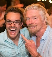 Michael Gebben interview, Richard Branson