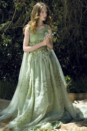 Green Woodland Wedding Dress - Best site hairstyle and wedding dress ...