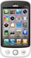Spice M-6868 Touchscreen 3D Wifi Phone