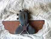 Blacken Beeswax Angel