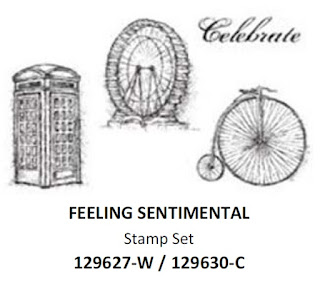 Stampin'UP!'s Sale-a-bration 2013 stamp set: Feeling Sentimental