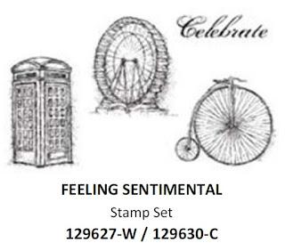 Stampin'UP!'s Sale-a-bration 2013 stamp set: Feeling Sentimental
