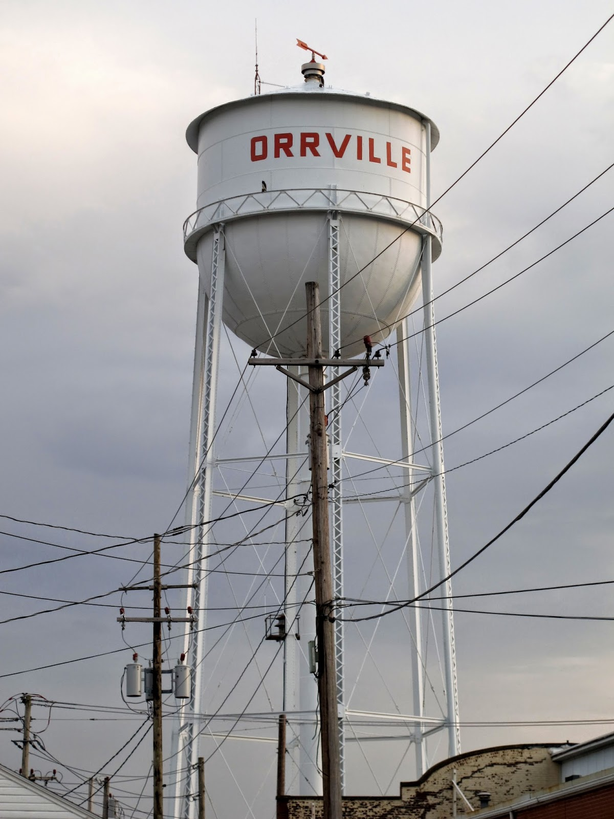 Orrville Water Tower
