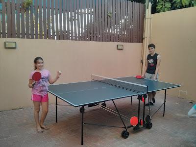 שולחן טניס 162IN של VO2