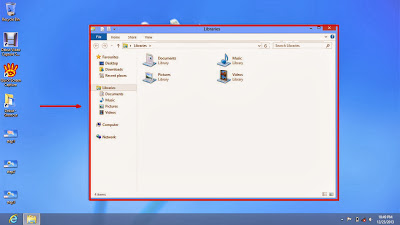 Learn how to disable show or don't show hidden files and folders in windows 8 step4