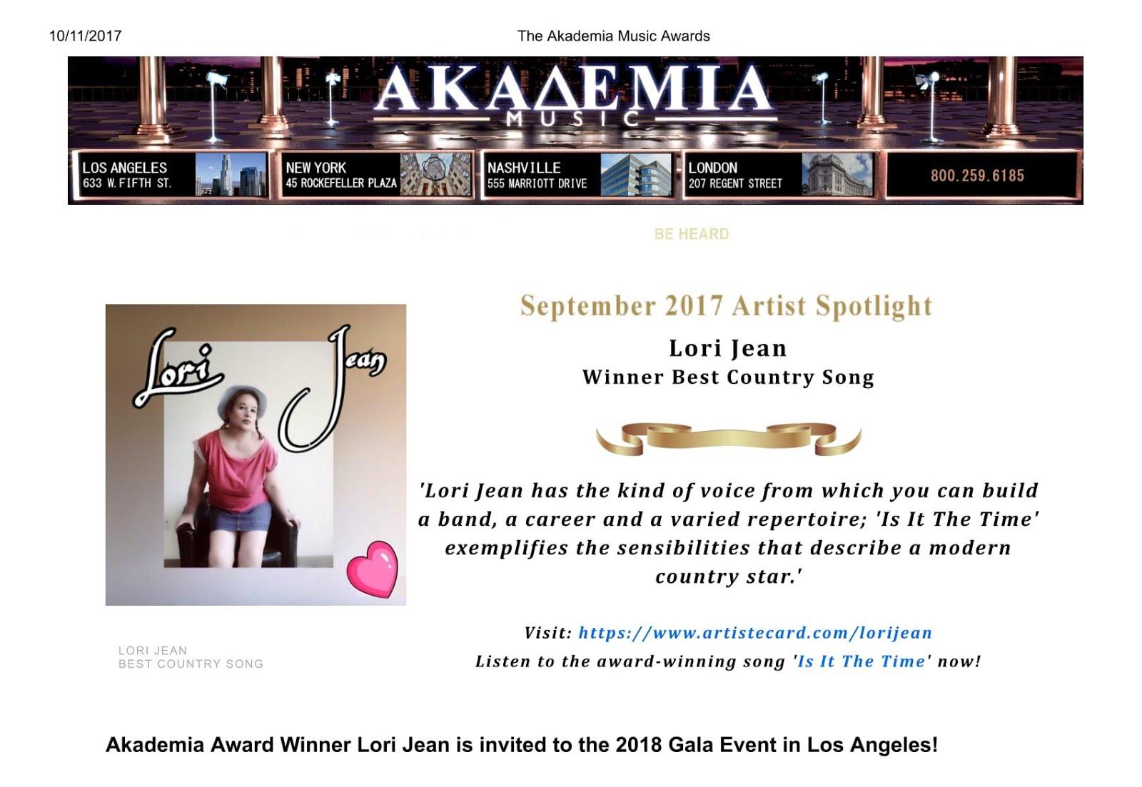 Akademia Music Award