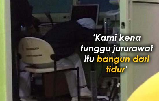 Perangai Kuat Tidur Jururawat HSI Dibongkar
