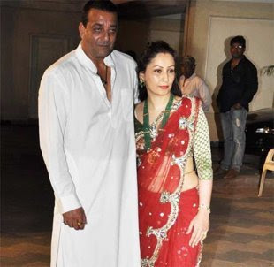 Maanyata and Sanjay Dutt - Romantic Bollywood couples