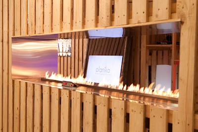 Planika ethanol fireplace