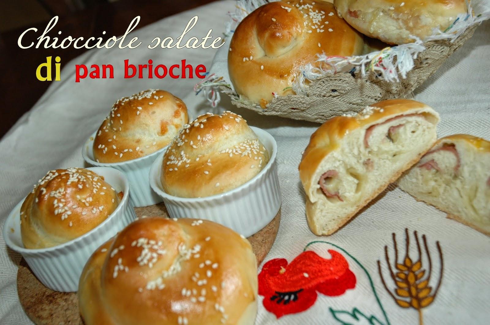 chiocciole salate di pan brioche a lievitazione naturale