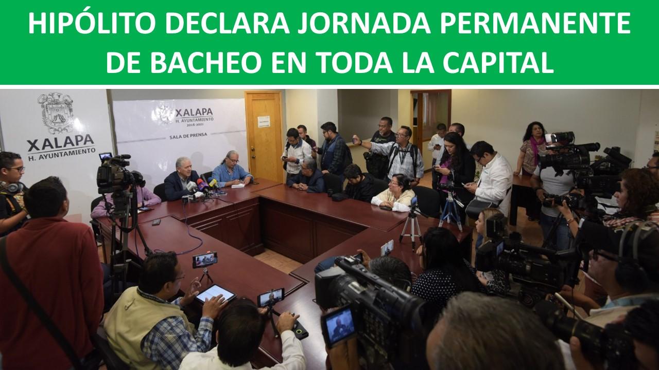 PERMANENTE DE BACHEO EN TODA LA CAPITAL