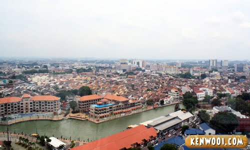 menara taming sari city view