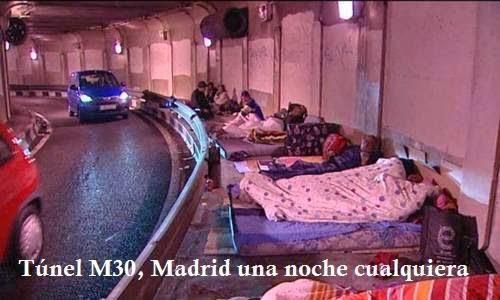 Tunel de Madrid  una noche cualquiera