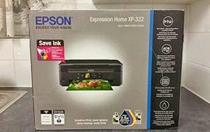 Epson xp-322 Printer Resetter