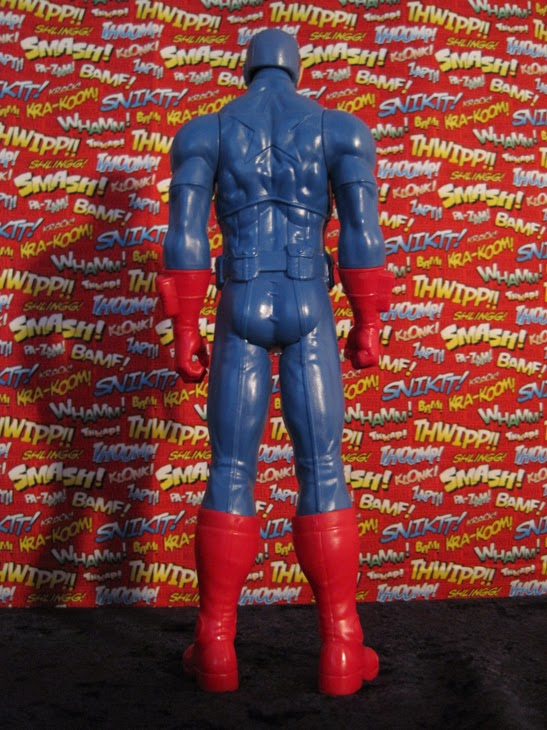 "Marvel 12"" Titan Heroes Avengers Action Figure: Captain America."
