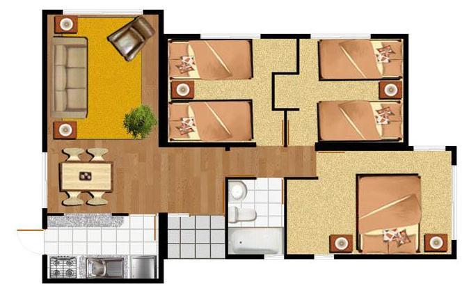 Planos de Casas Modelos y Diseos de Casas Planos de casas