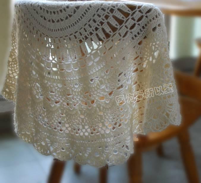 All Crochet Free Patterns : Oggi condivido con voi alcuni modelli di scialle trovati in rete, che ...