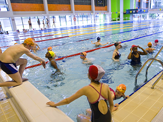 piscine charleroi