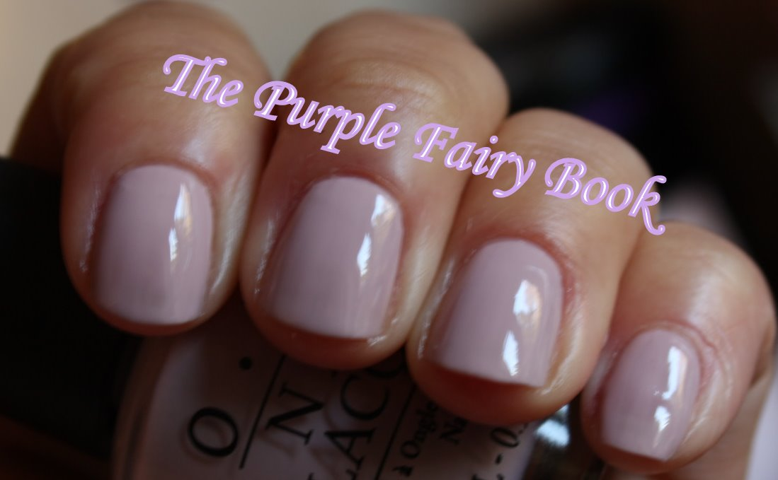 The Purple Fairy Book: October is Pink! OPI Steady as she Rose