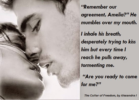 The Collar of Freedom by Alexandra I. teaser