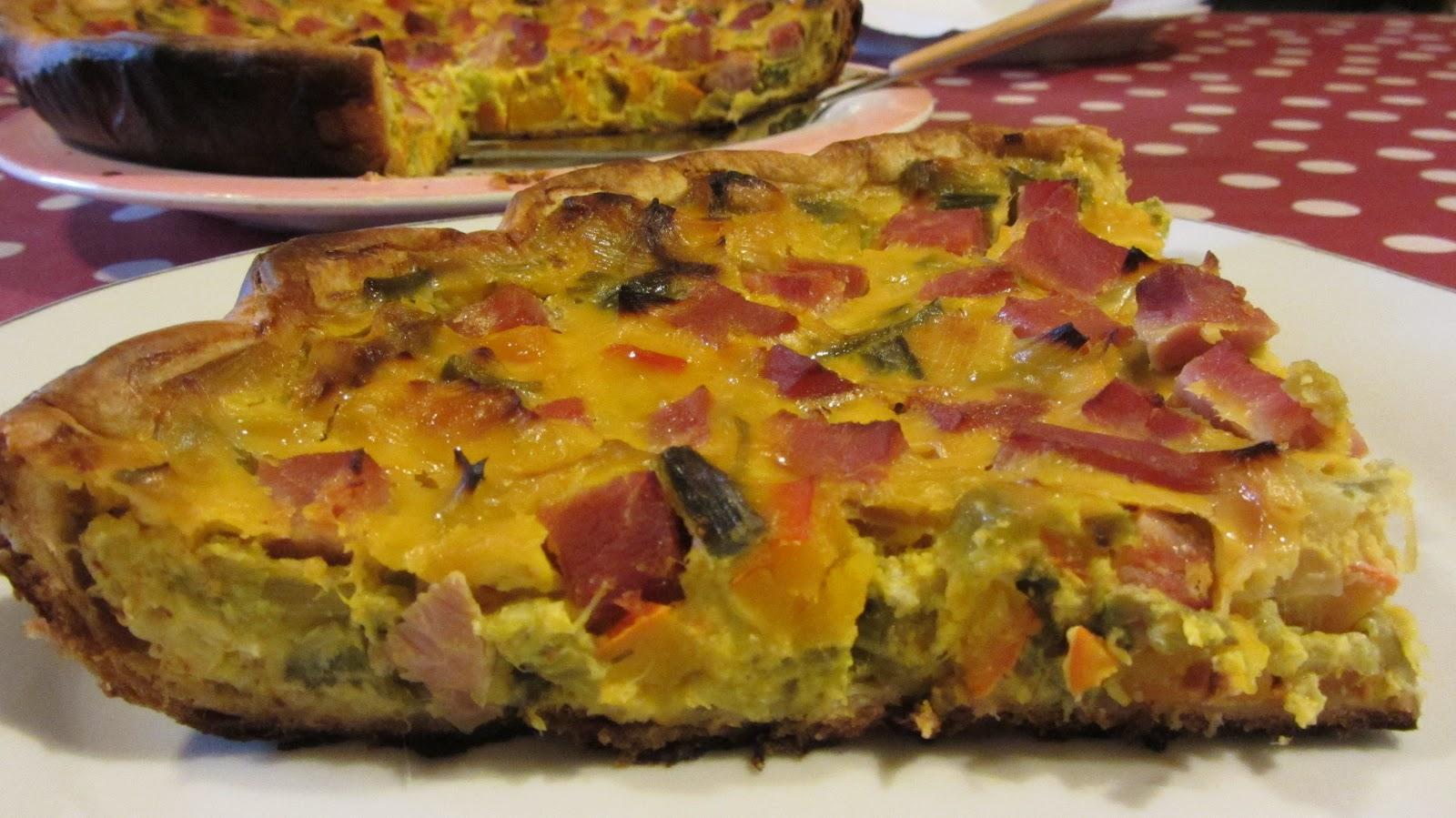 A table tarte poireaux potimarron - Tarte aux poireaux sans creme ...