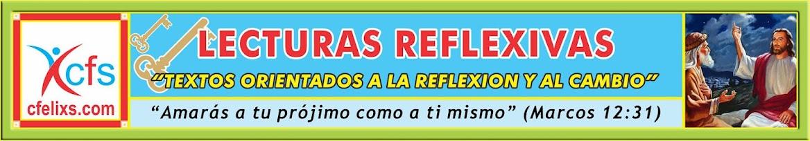 LECTURAS REFLEXIVAS