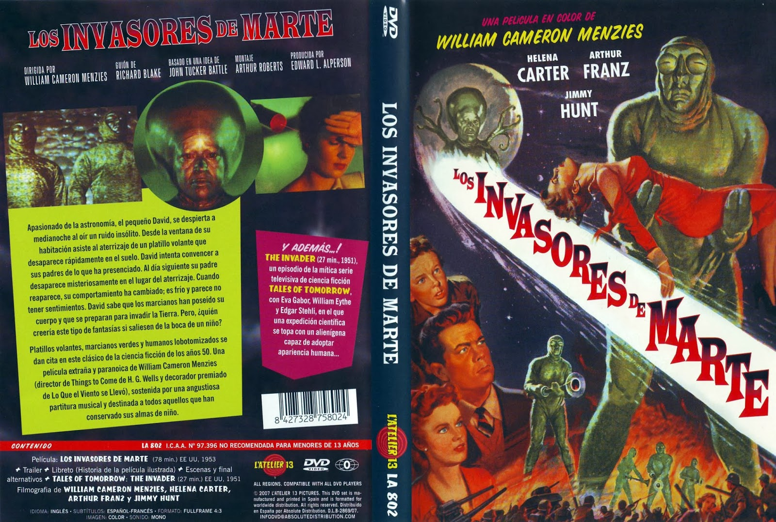invaders from mars dvd - photo #2