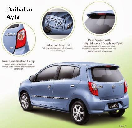 Harga Daihatsu Ayla Padang 2016 Kredit Promo