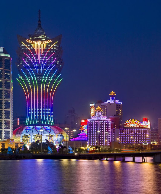 The Best Blog Ever Travel the world RTW- Family Travel Macau Casinos