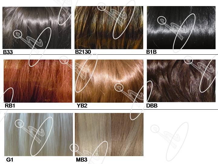 light brown hair chart. YB2: LIGHT BROWN