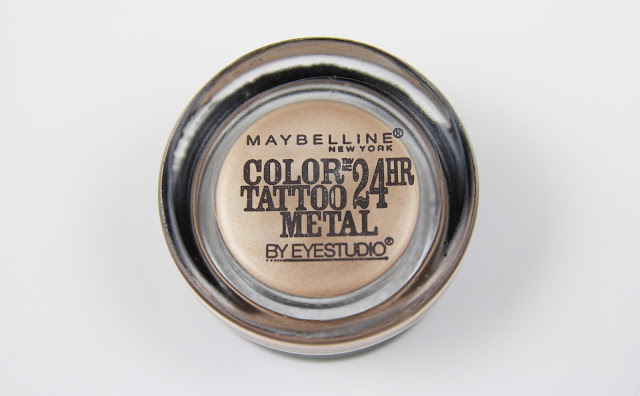 "Maybelline Color Tattoo Metal in ""Barely Branded"""