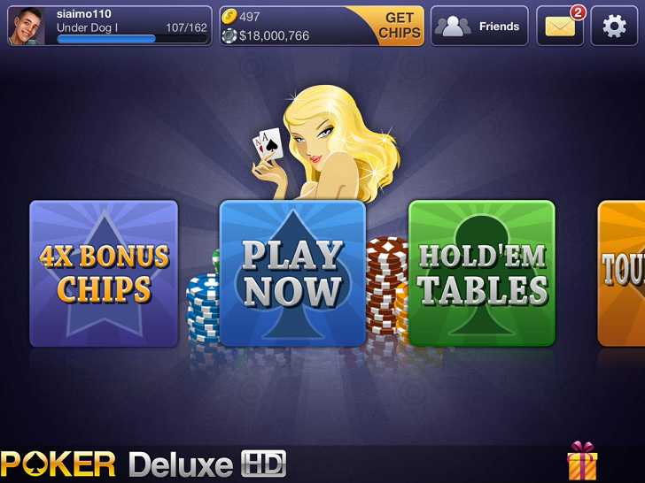 Texas HoldEm Poker Deluxe App iTunes App By IGG.COM - FreeApps.ws