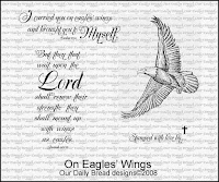 Our Daily Bread designs On Eagles' Wings