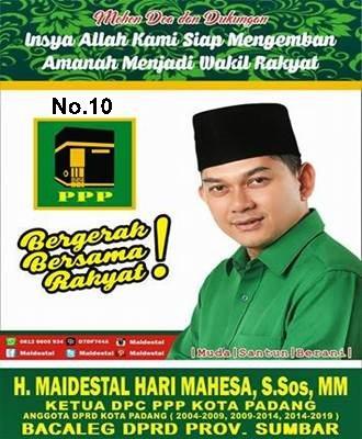 Ketua DPC PPP Kota Padang, Sumbar