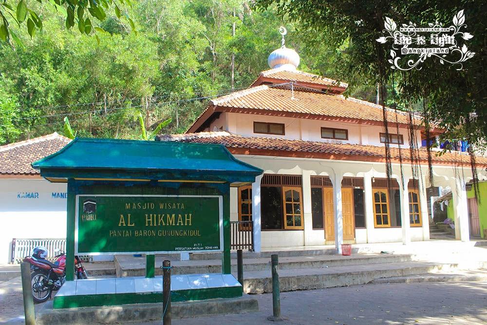 masjid al hikmah pantai baron