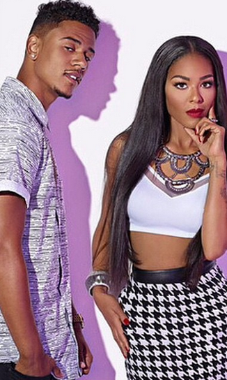 Lil Fizz and Moniece engaged