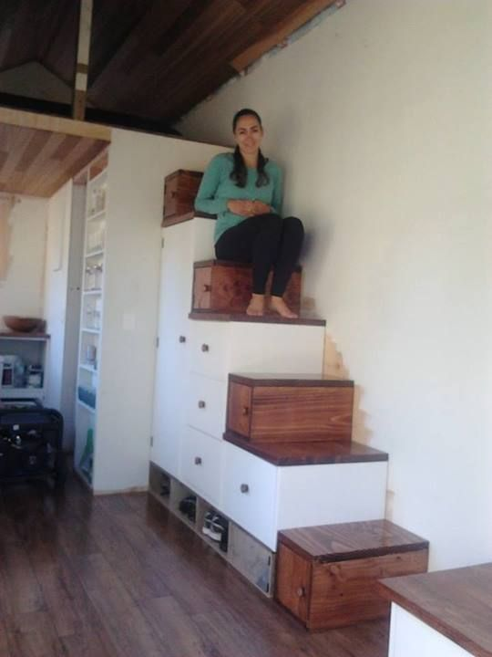 Tom And Bexs Tiny Nest Storage Solutions In A House