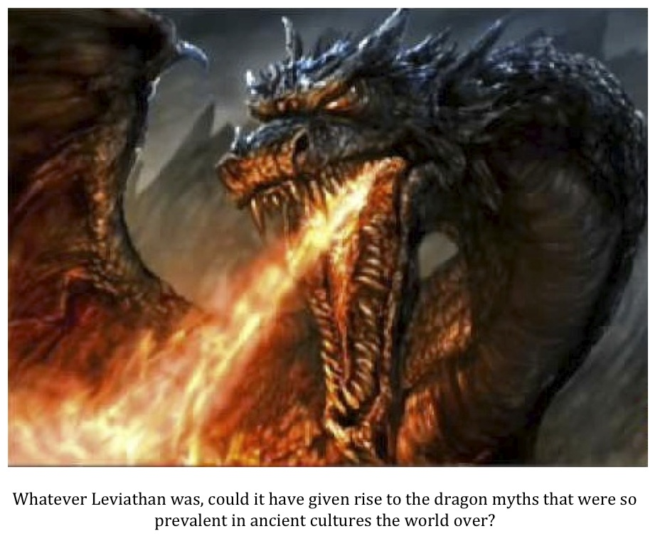 are fire breathing dragons in the bible