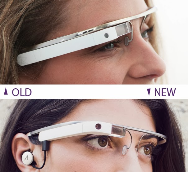 Redesign Google Glass